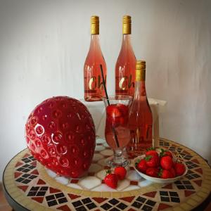 Erdbeerzeit mit Rosé
