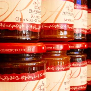 Feine Marmeladen für den Frühstückstisch